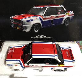 "FIAT 131 ABARTH GR.4 - ""SANREMO RALLY 1977 - FIAT FRANCE -  J.C.ANDRUET"" -- KYOSHO cod. 08375A"