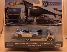 #12 NISSAN SKYLINE R34 GT-R & AERO LIFT