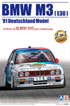 BMW M3 E30 DTM  - BMW SCHNITZER - Aoshima Beemax 098196