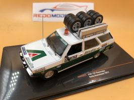 Fiat 131 Panorama - Fiat Alitalia Assistenza - 1977 WRC - IXO RAC 305X