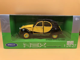 CITROEN 2CV CHARLESTON - GIALLO - WELLY