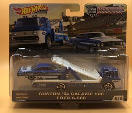 #15 CUSTOM '64 FORD GALAXIE & FORD C-800