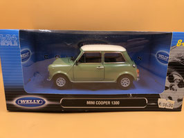 MINI COOPER 1300 - VERDE - WELLY