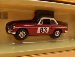 MG B  - Winner GT Class Montecarlo Rally (1964)