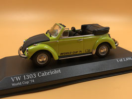 VOLKSWAGEN BEETLE 1303 CONVERTIBLE WORLD CUP ED. (1974)