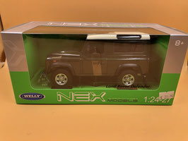 LAND ROVER DEFENDER - VERDE - WELLY