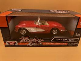 CHEVROLET CORVETTE C1 (1959) - MOTOR MAX 1/24