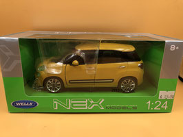 FIAT 500 L - GIALLO - WELLY