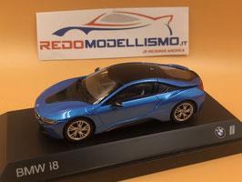 BMW i8 (2014) - BLU - PARAGON 1/43