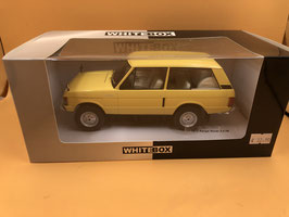 LAND ROVER RANGE ROVER (1970) - BEIGE - WHITE BOX