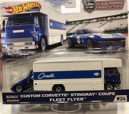 #24 CUSTOM CORVETTE C2 STINGRAY & FLEET FLYER