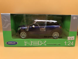MINI COOPER S PACEMAN - BLU - WELLY