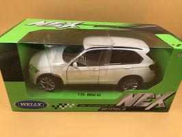 BMW X5 - BIANCO - WELLY 1/24