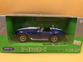 AC SHELBY COBRA 427 SC - BLU - WELLY