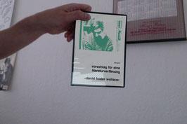 Vorschlag für eine Litereraturverfilmung: «David Foster Wallace»