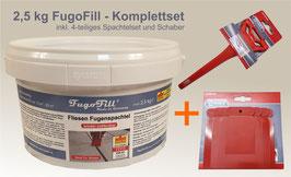 2,5 kg FugoFill - Komplettset