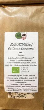 Backmischung Bio Urdinkel Vollkornbrot - Unser kernig-saftiges!