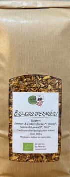 Emmer/Einkorn Bio-Knuspermüsli