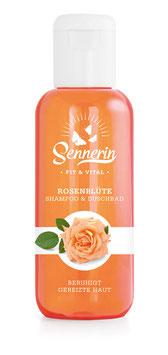 Rosenblüte Shampoo & Duschbad (200 ml)