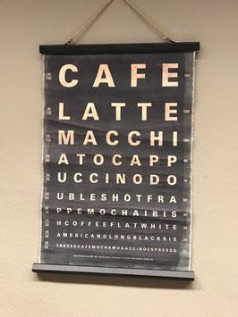 "Rollbild ""Cafe"""