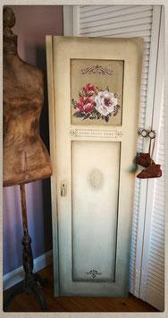 aufgearbeitete alte Tür