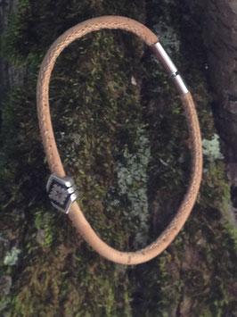 Bracelet 1 cordon liège naturel et fantaisie