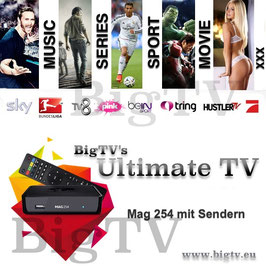 Ultimate TV + Mag 254 oder Mag 256