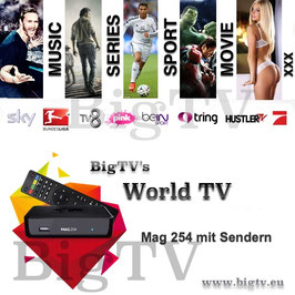 World TV + Mag 254 oder Mag 256