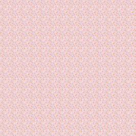 047 Baumwollstoff Glitter rose