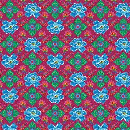 029 Baumwollstoff Phae CERISE