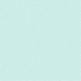 019 Baumwollstoff kleine Punkte mint
