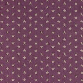 065 Sterne cerise mittel