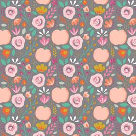 037 Baumwollstoff Easy Peachy