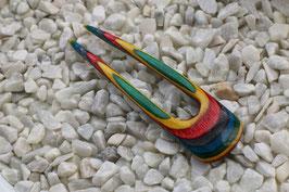 Haarforke aus Spectraply in Confetti 13,3 cm
