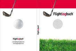 Flightlogbuch für 31 Golfrunden.