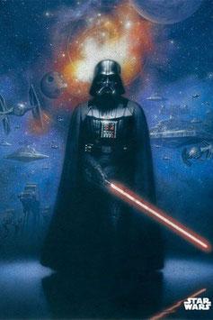 Póster de Metal Star Wars La Fuera del Imperio (10x14cm)