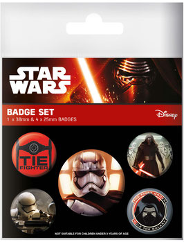 Star Wars Chapas First Order
