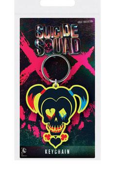 Llavero de Caucho Logo Harley Quinn
