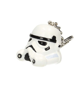 Llavero de PVC Casco de Stormtrooper