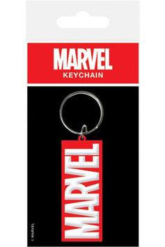 Llavero de Caucho Marvel Logo