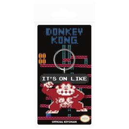 Llavero de Caucho Donkey Kong