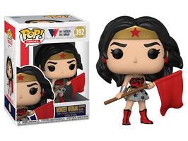 Wonder Woman Bandera Roja