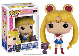 Sailor Moon y Luna