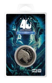 Moneda de Plata 40 Aniversario