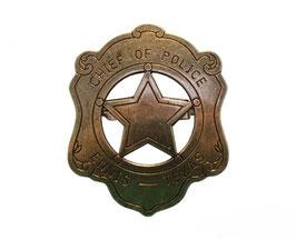 Placa de Jefe de Policía