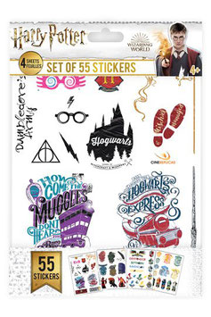 Set de Pegatinas Simbolos de Harry Potter