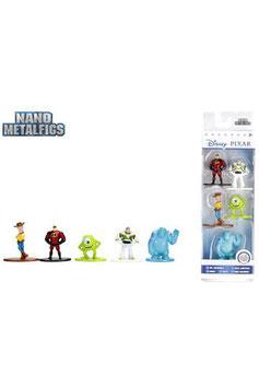 Pack 5 Figuras Nano Metalfigs Disney Pixar
