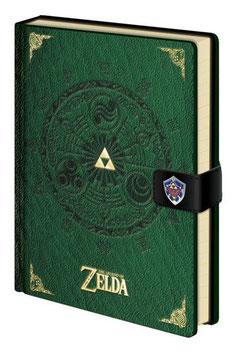 Libreta la Leyenda de Zelda A5 Trifuerza