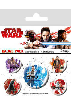Star Wars Chapas Iconos