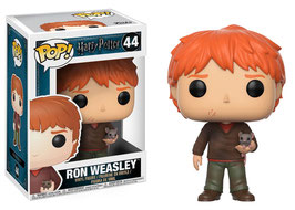 Ron Wesley con Scabbers